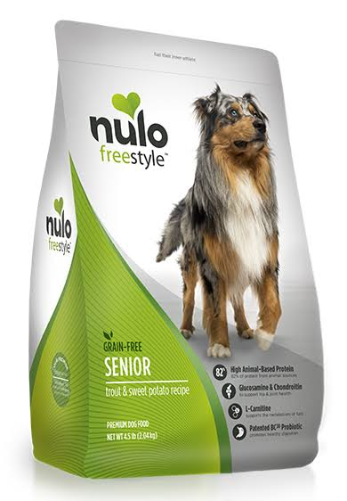 Nulo Freestyle Senior Dog Food - Trout & Sweet Potato Recipe