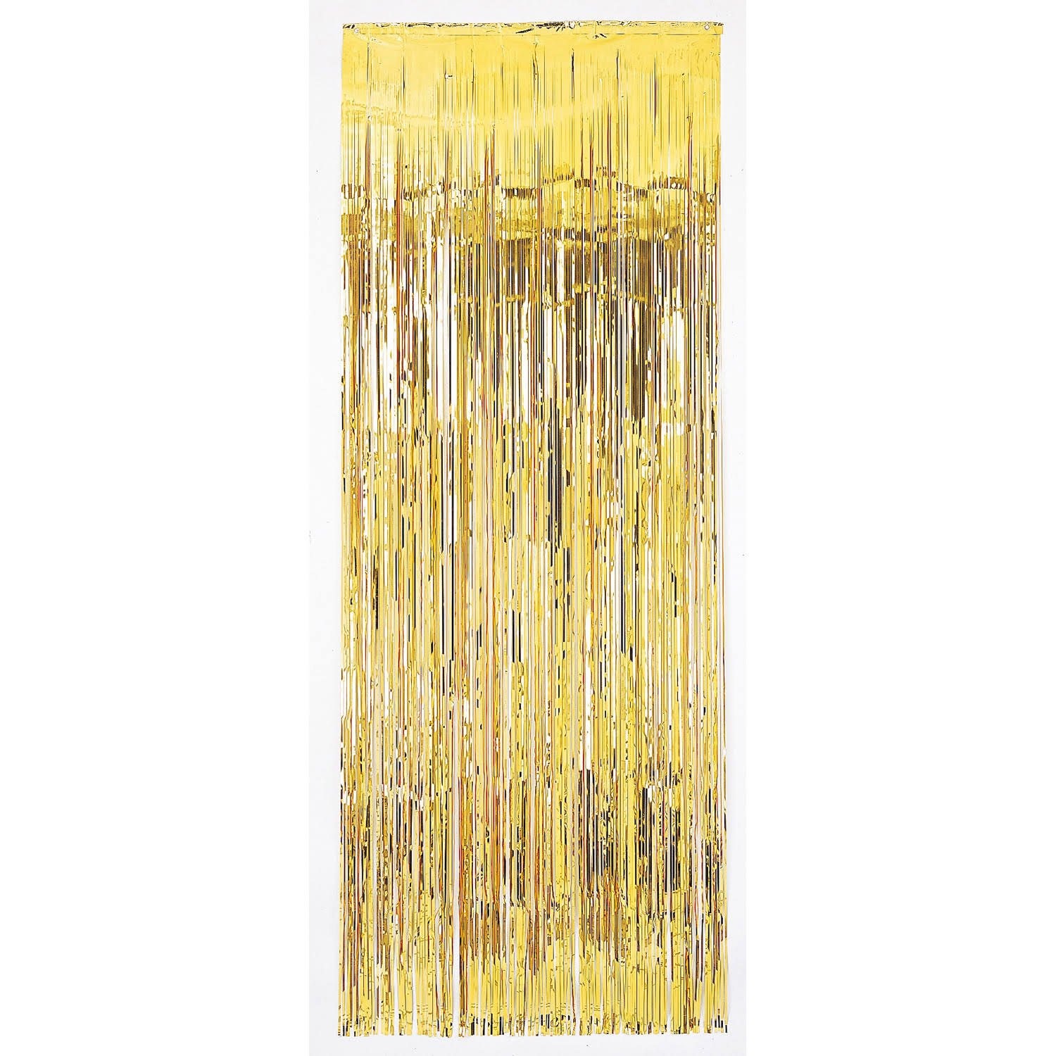 Amscan Door Curtain - Metallic Gold, 8ft x 3ft