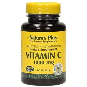 Nature's Plus Vitamin C Supplement - 1000mg, 60 Tablets