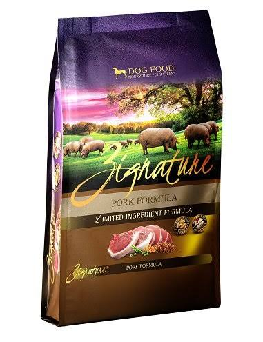 Zignature Pork Formula Dog Food - 4lb
