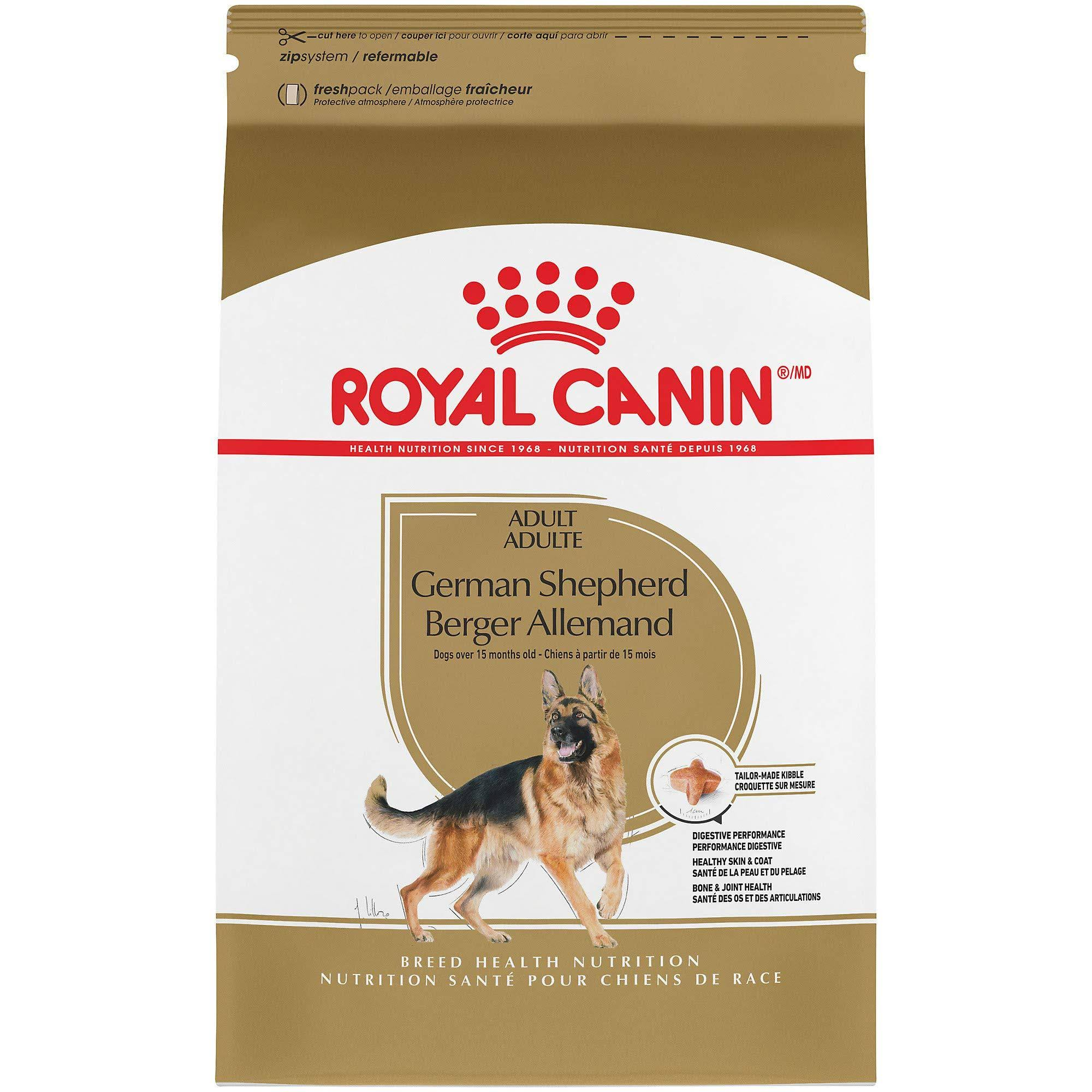 Royal Canin Breed Health Nutrition German Shepherd Adult Dry Dog Food - 30lbs