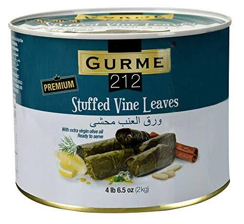 Gurme212 Premium 4.4 lbs Stuffed Vine Leaves (Dolmades) with Olive Oil
