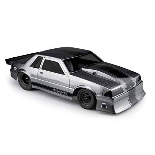 JConcepts 0362 - 1991 Ford Mustang Fox Clear Body 10.75 & 13 inch WB