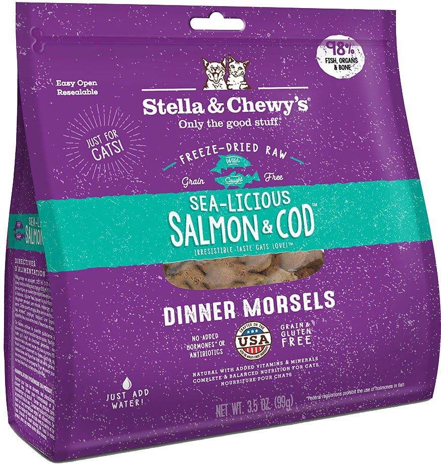 Stella and Chewy's Sea-licious Cat Dinner - Salmon and Cod, 9oz