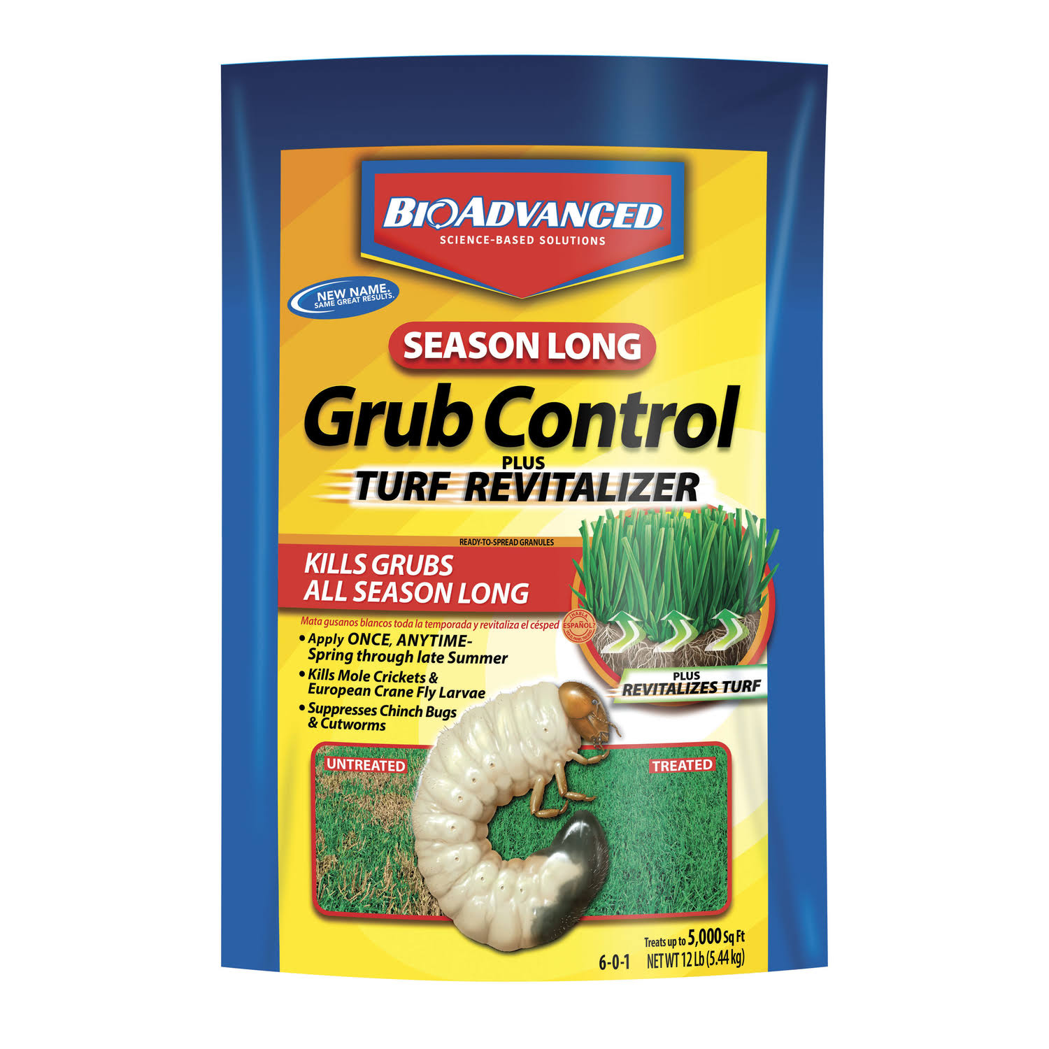 Bayer Season Long Grub Control - 12 lb