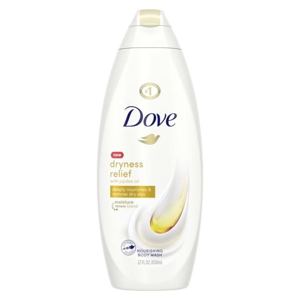 Dove Body Wash - Dry Oil Moisture, 22oz