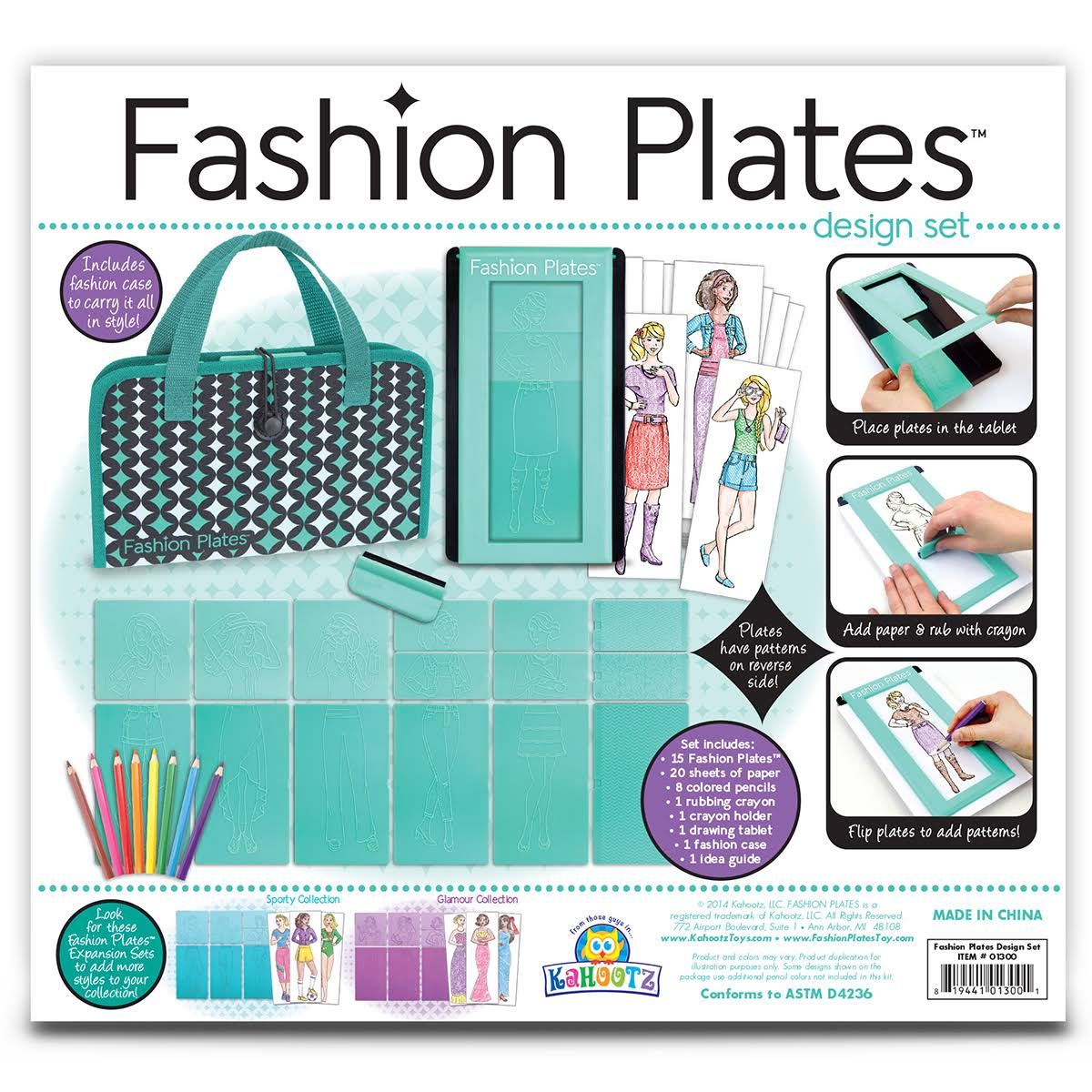 Fashion Plates Deluxe Set