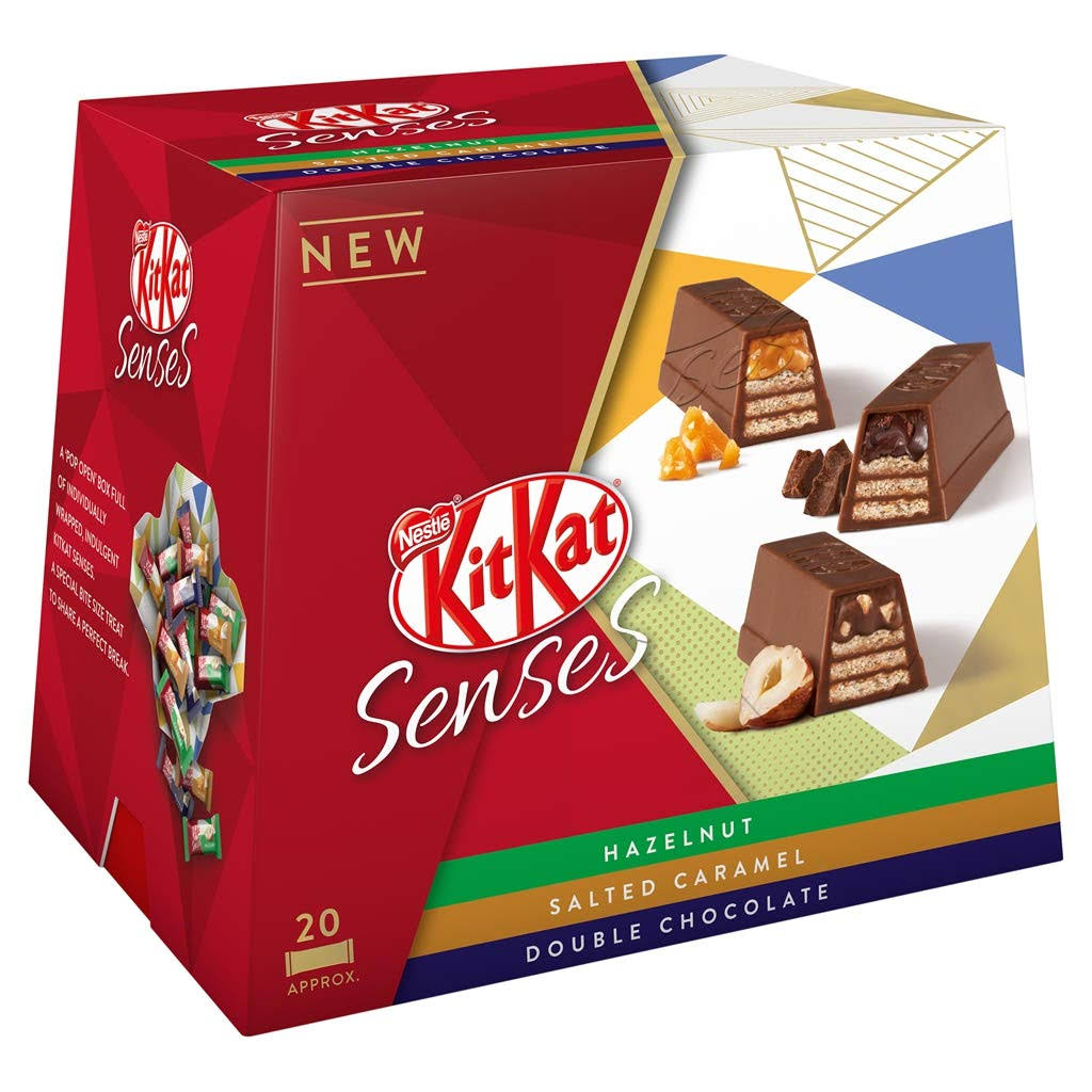 Kitkat Senses Chocolate Selection Sharing Box - 200g