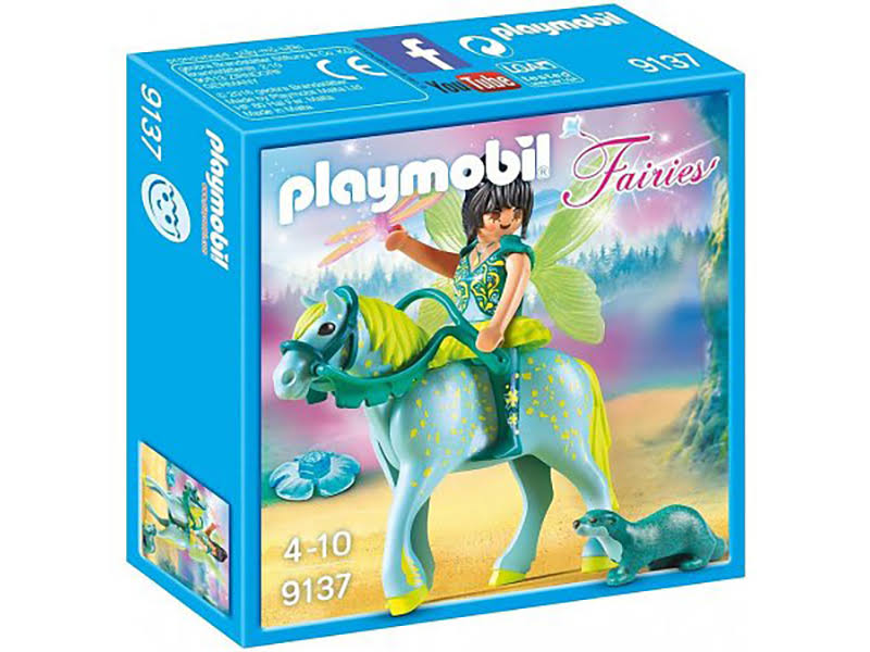 Playmobil Fairy of Water With Horse Toyset
