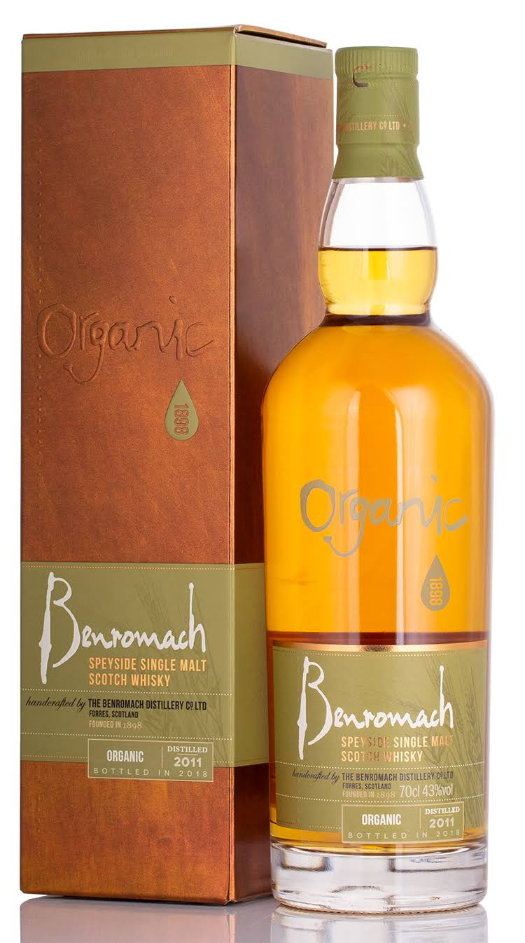 Benromach Organic Single Malt Whisky - 70cl