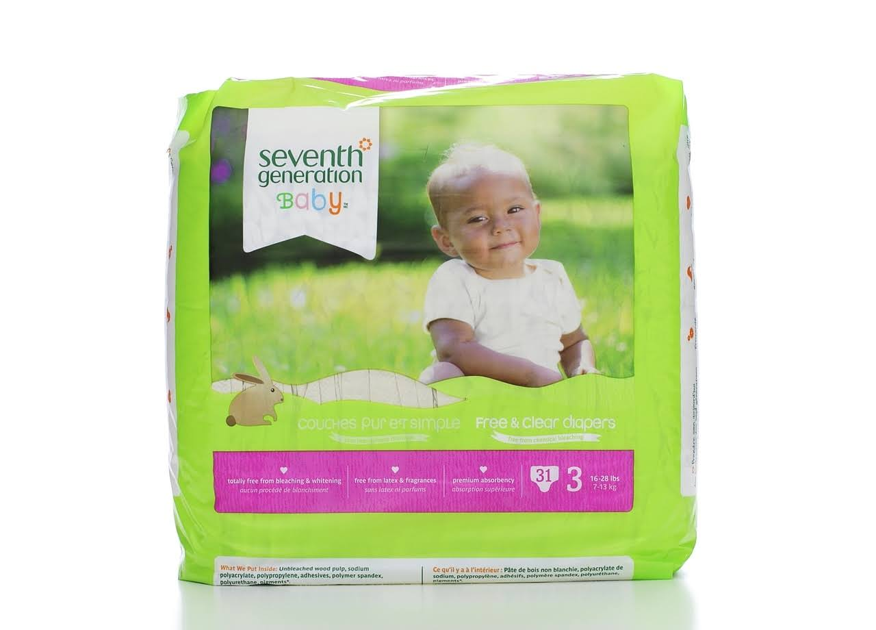 Seventh Generation Free & Clear Diapers
