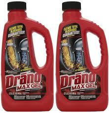 Bathtub Drain Clog Remover by Amazon Com Drano 00117 2pk Max Clog Remover Pack Of 2 32 Oz