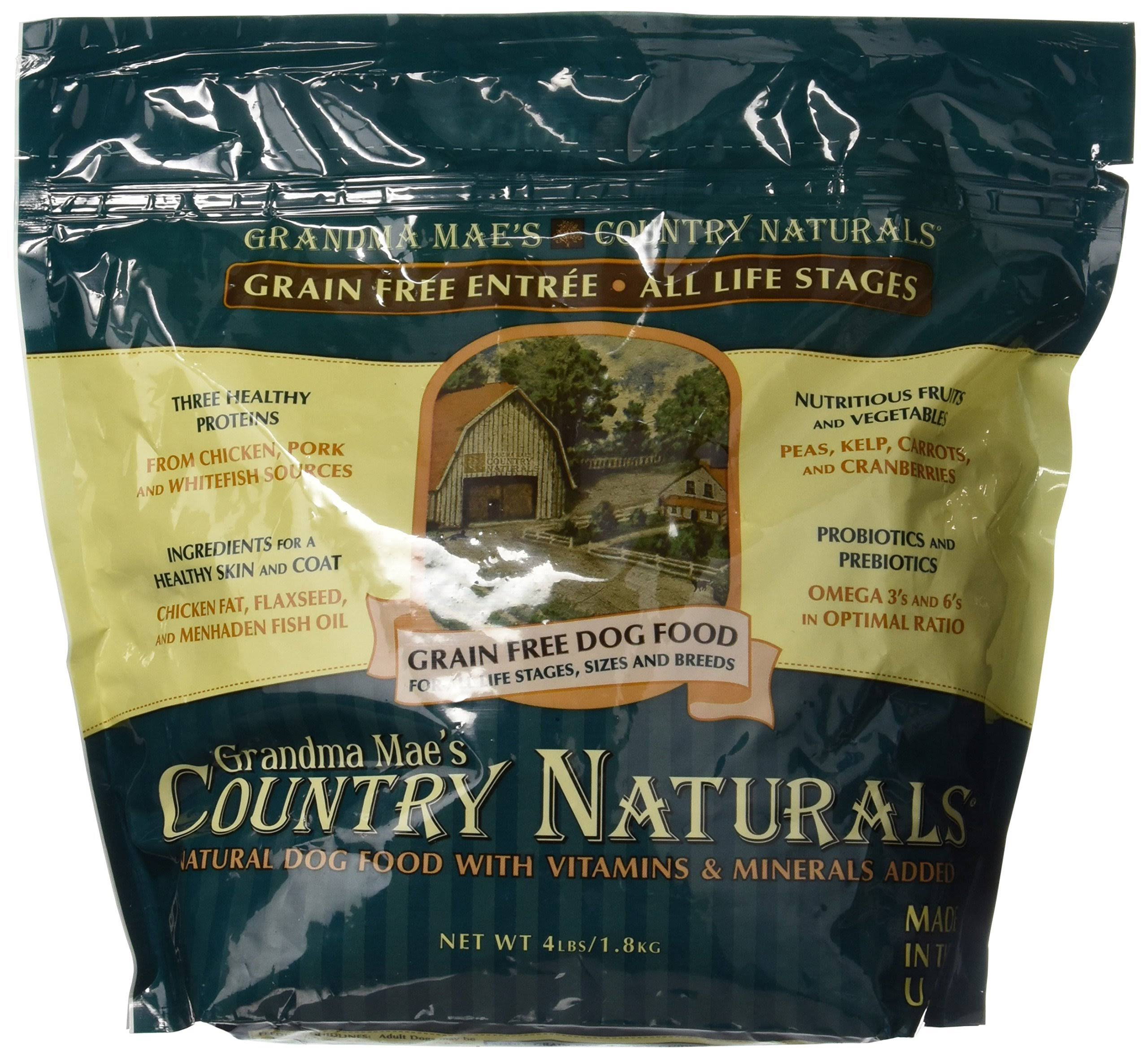 Grandma Maes Country Naturals Grain Free Dog Food
