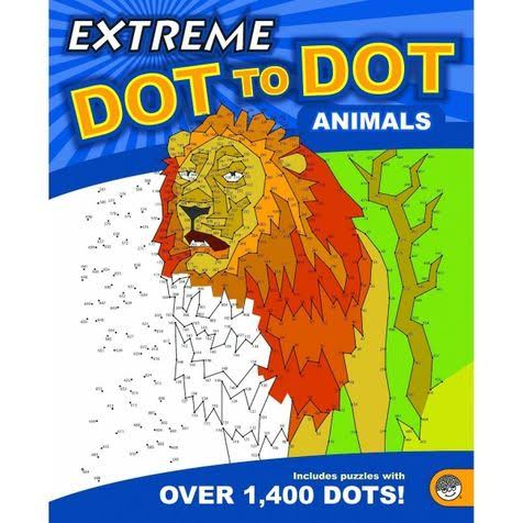 Extreme Dot To Dot Book - Animals