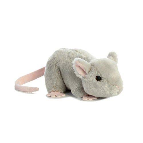 Aurora World Mini Flopsie Toy Mouse Plush, 8""