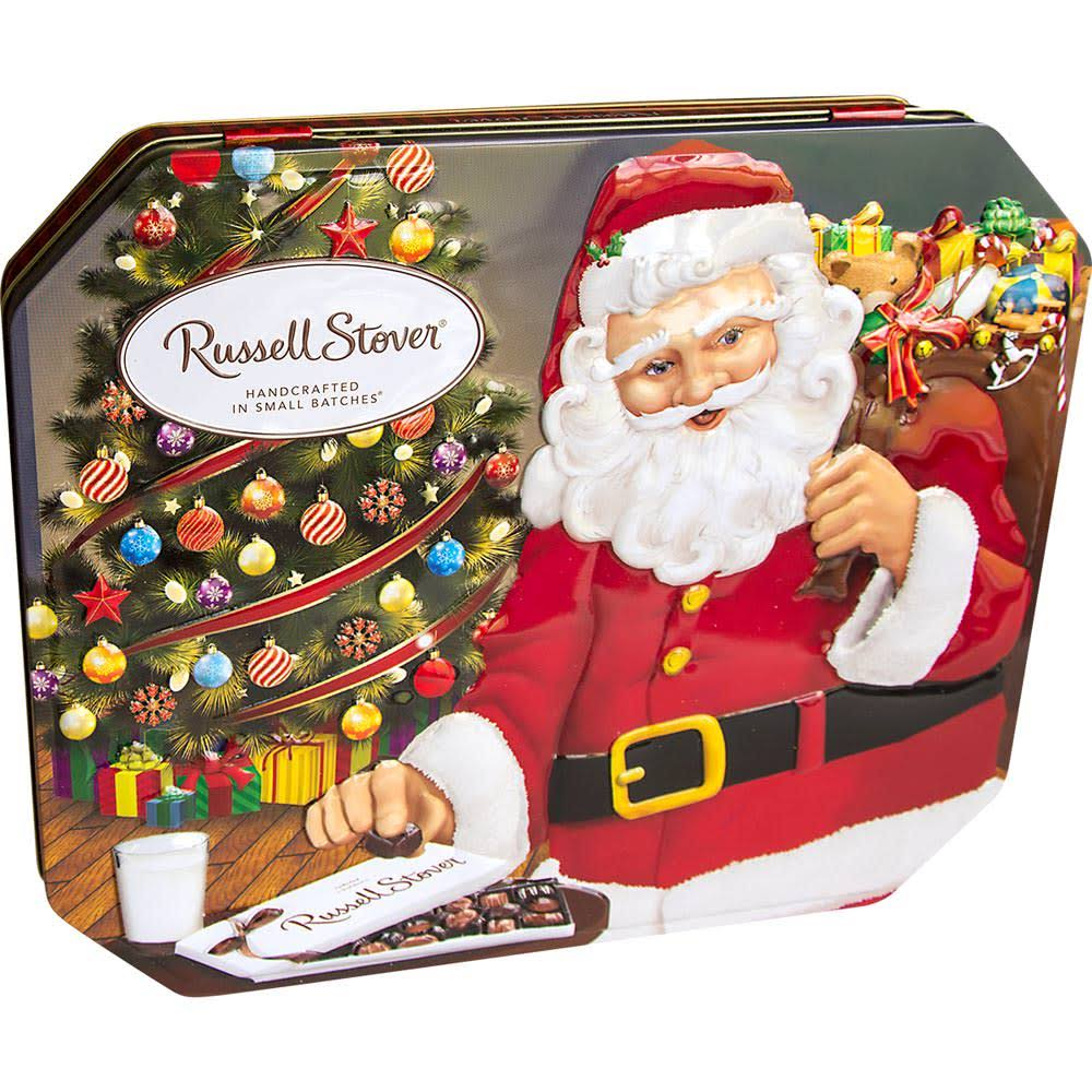 Russell Stover Gifts from Santa Assorted Chocolates Tin, 10 oz.