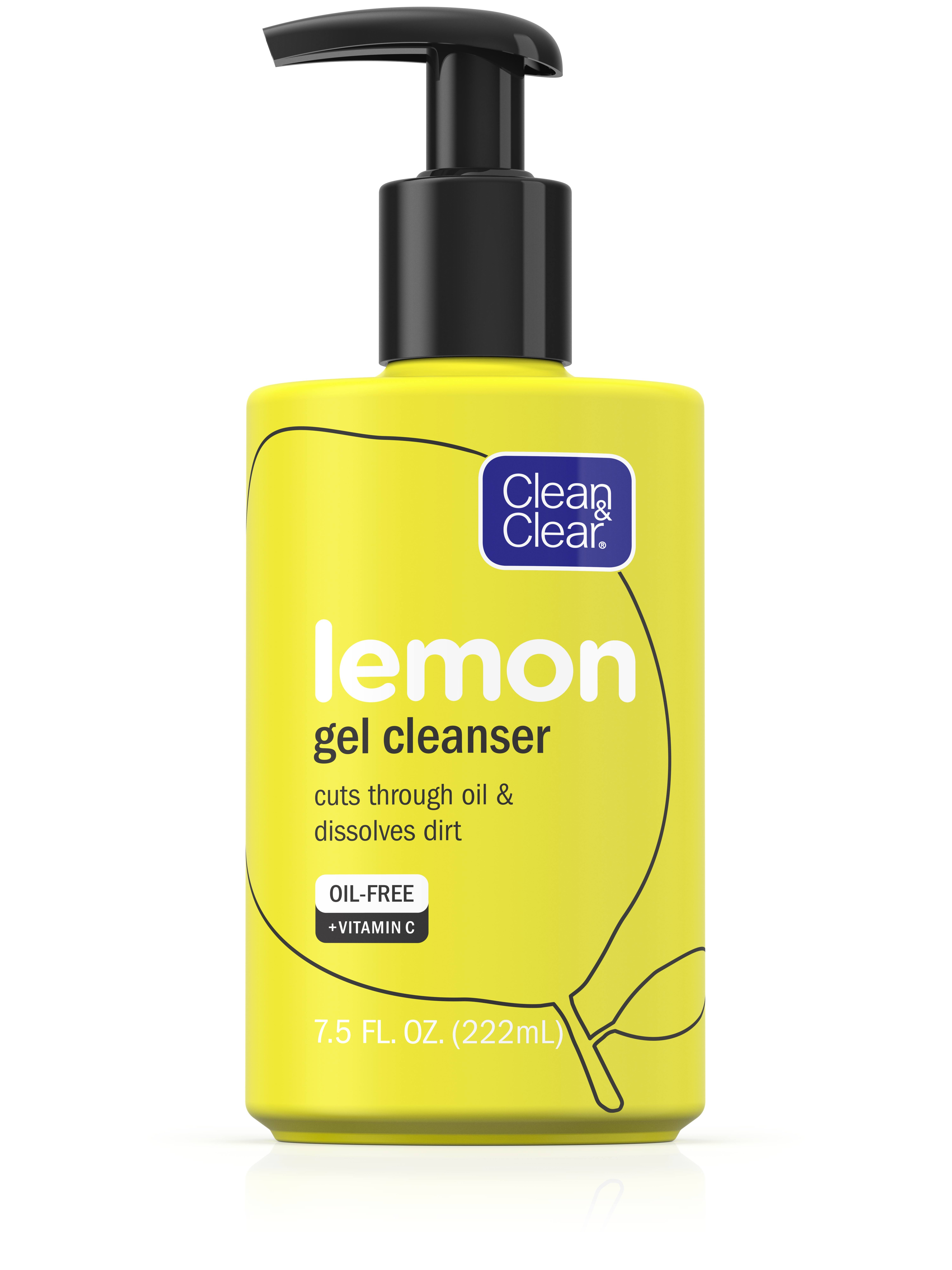 Clean and Clear Gel Cleanser - Lemon, 220ml