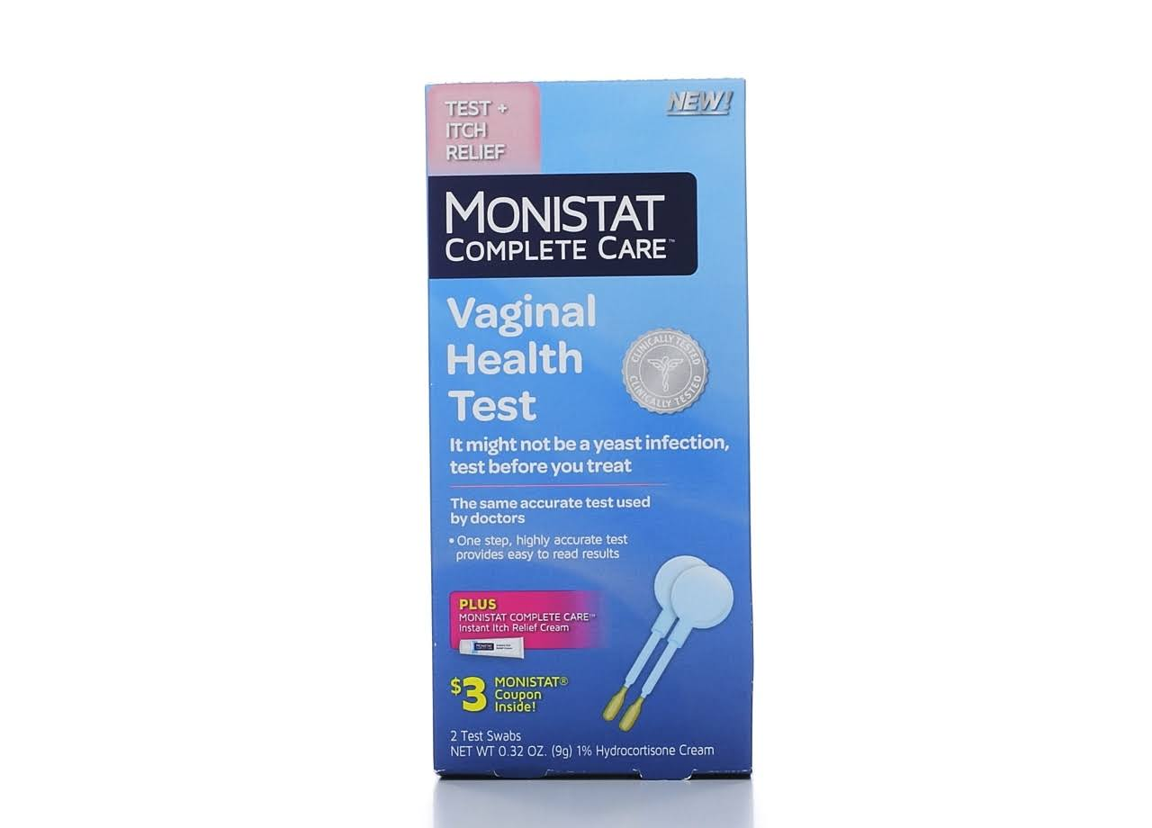 Monistat Complete Care Vaginal Health Test - 2ct
