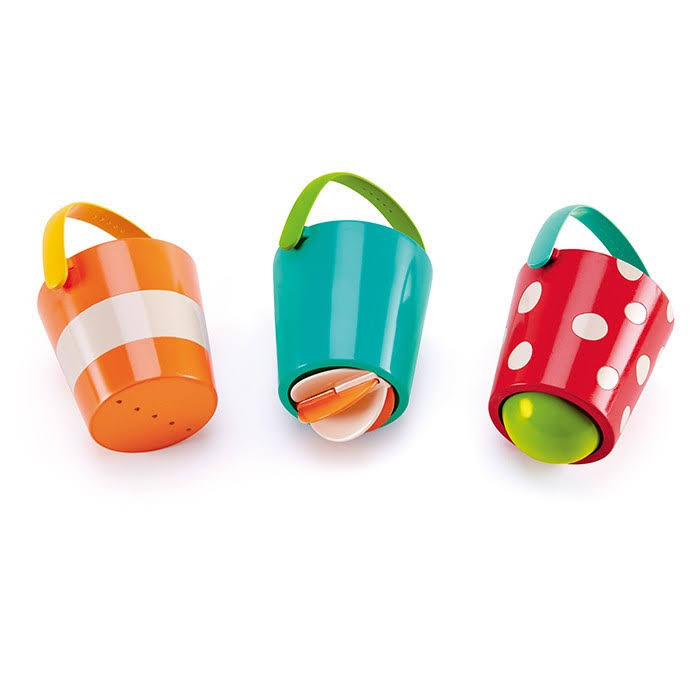 Hape Kids Little Splashers Happy Buckets Set Bath Toy