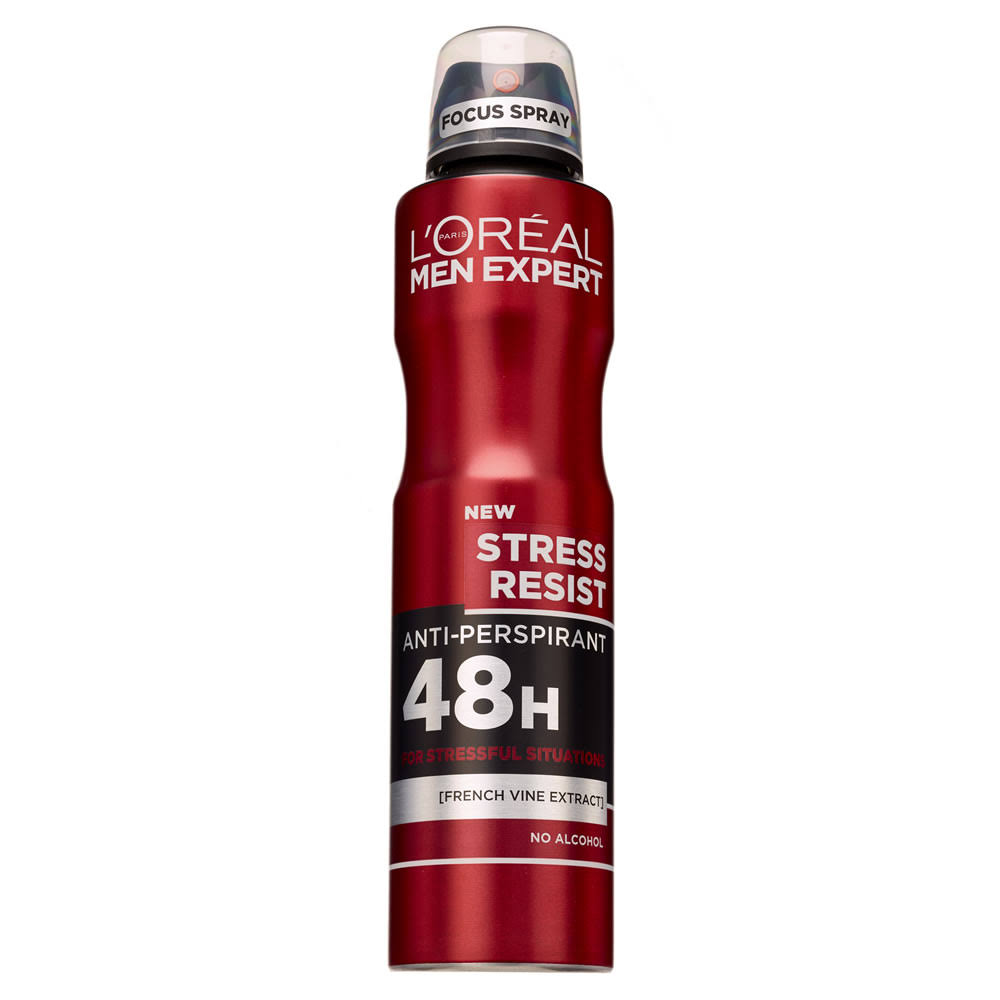 L'Oreal Men Expert Stress Resist Anti Perspirant Deodorant - 250ml