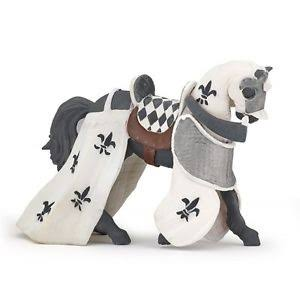Papo Knights Toy Figure - Horse of the Paladin