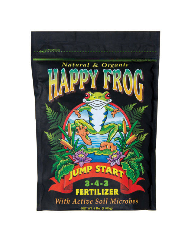 Fox Farm Happy Frog Jump Start Dry Fertilizer - 4lbs