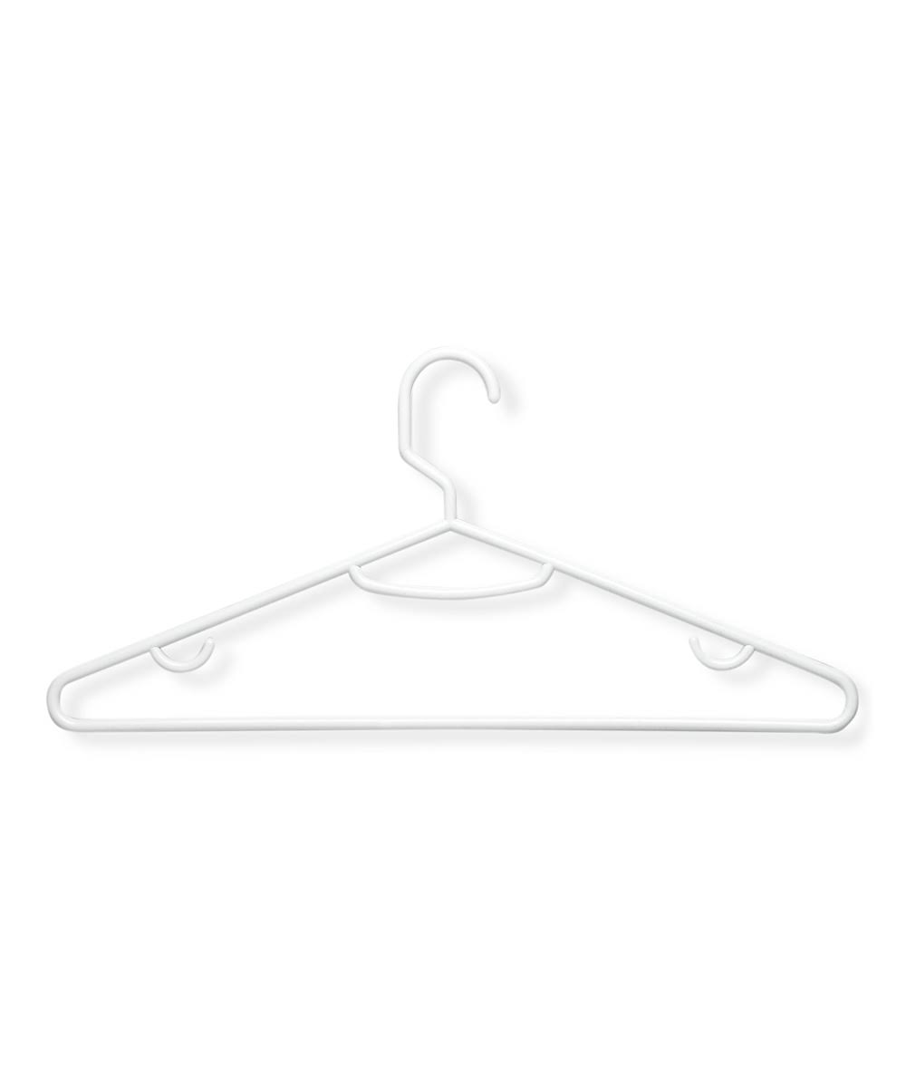 Honey Can Do Recycled Plastic Hangers - 15 Pack, White