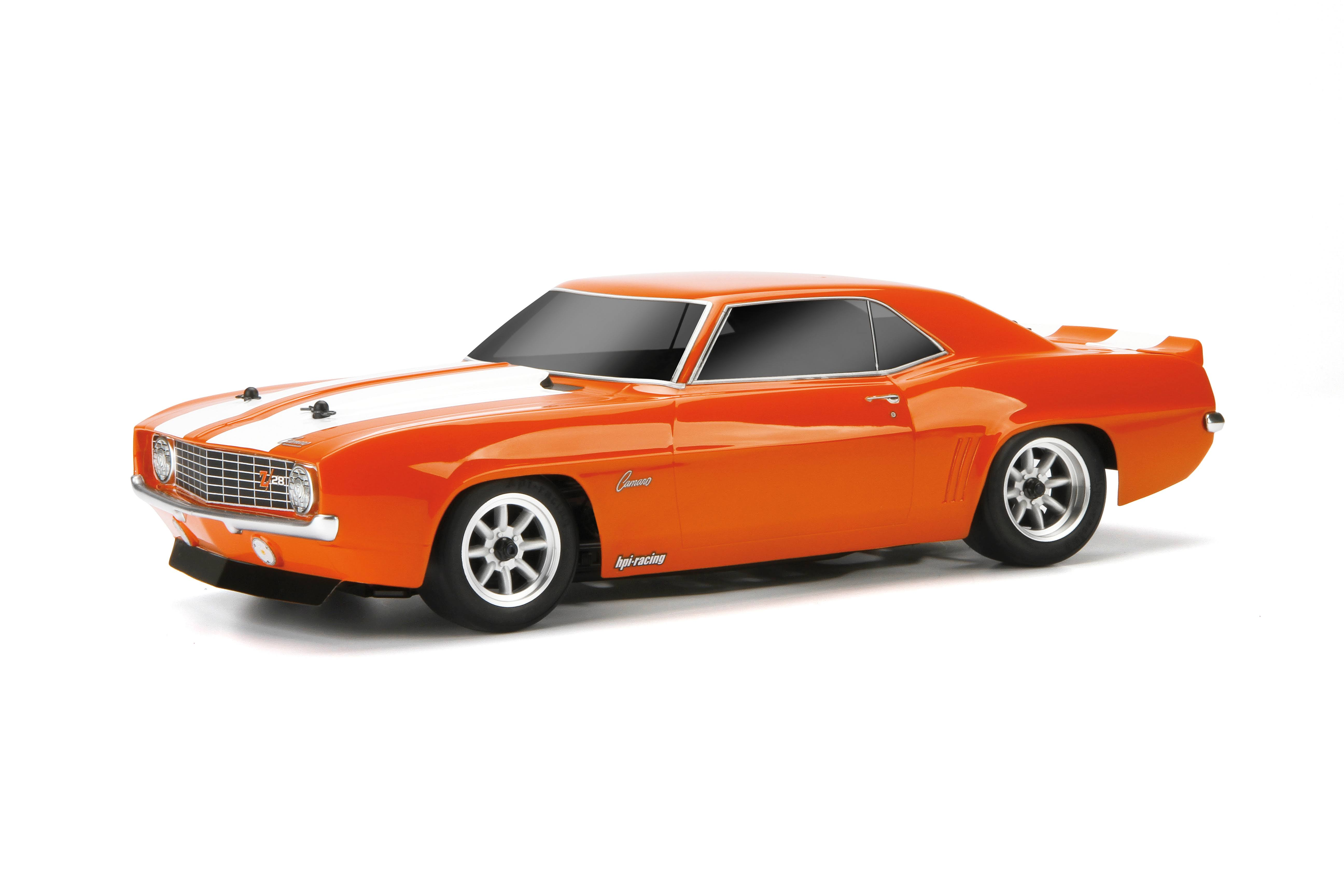 HPI 17531 Racing '69 Chevrolet Camaro Z28 Clear Body, 200mm