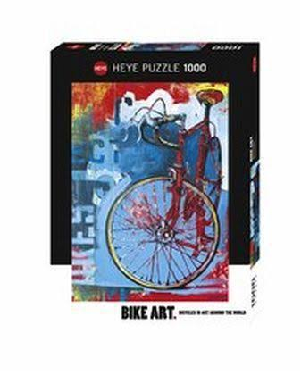 Heye Bike Art Red Limited 1000 Piece Puzzle