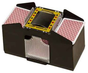 CHH 4 Deck Battery Operated Card Shuffler - Casino Style