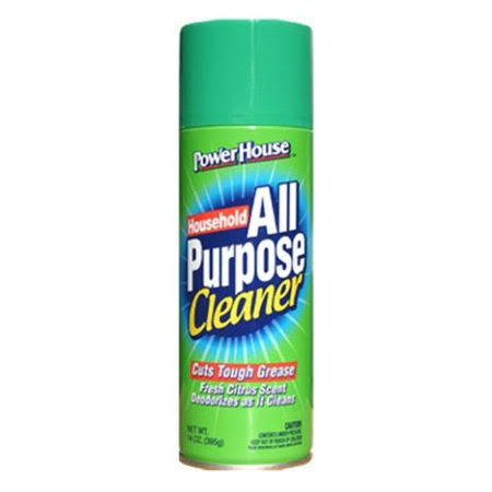 Power House All-purpose Cleaner - Fresh Citrus Scent, 13oz, 12 Pack