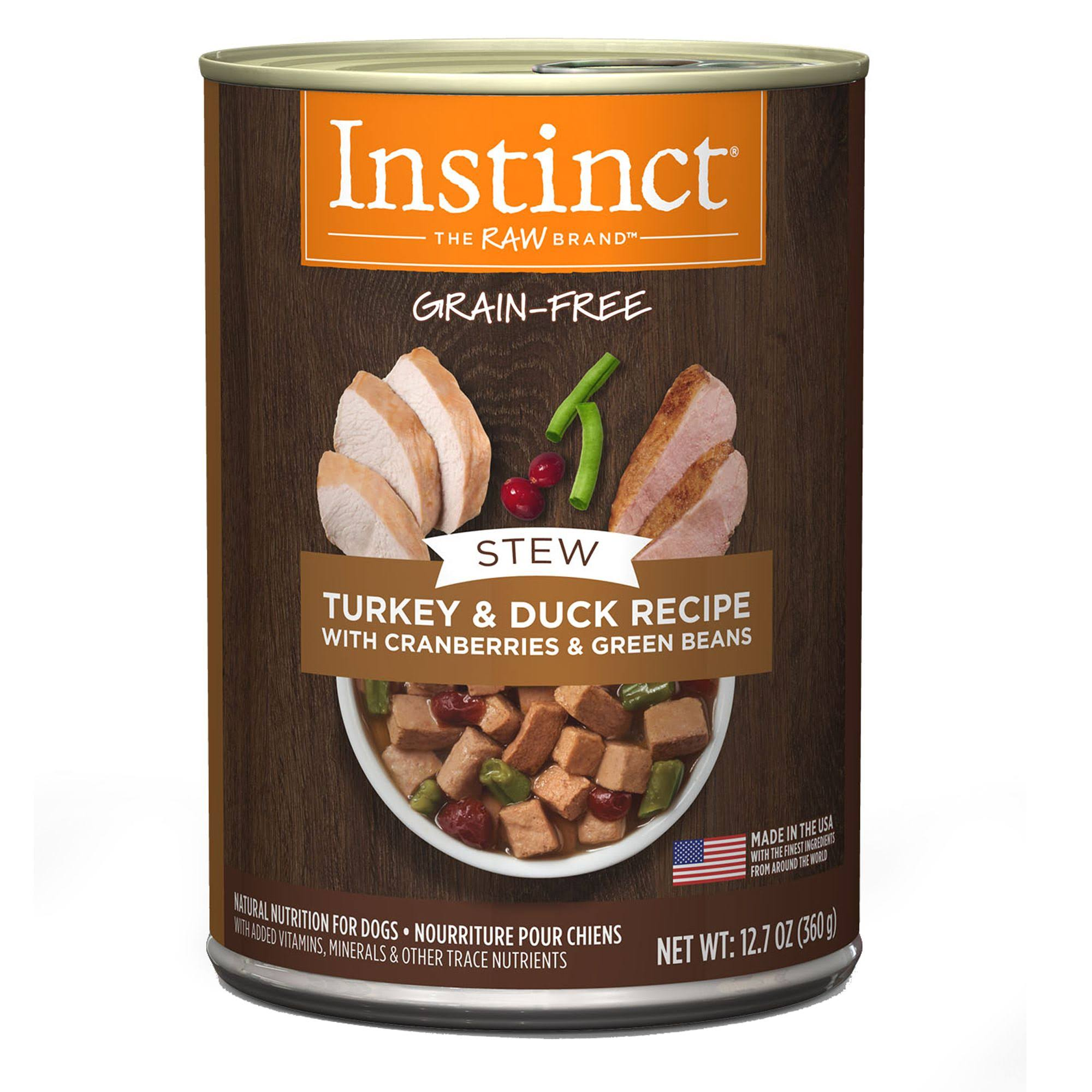 Instinct Dog Stews - Turkey and Duck, 12.7oz