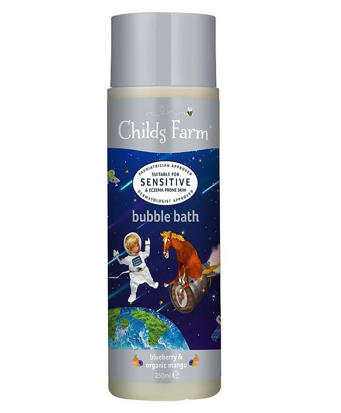 Childs Farm Bubble Bath - Blueberry & Organic Mango, 250ml
