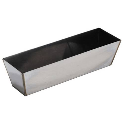 Marshalltown 16395 Heli-arc Stainless Steel Mud Pan - 12""