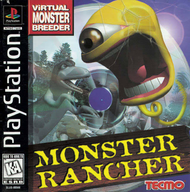 Monster Rancher - Playstation 1