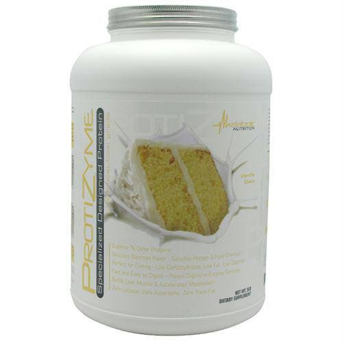 Metabolic Nutrition Protizyme Specialized Designed Protein - Vanilla Cake, 5lb