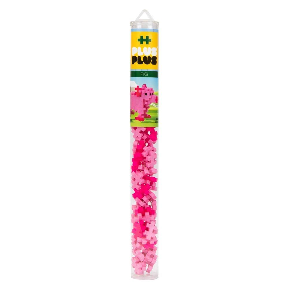 Plus-Plus Mini Maker Tube - Pig