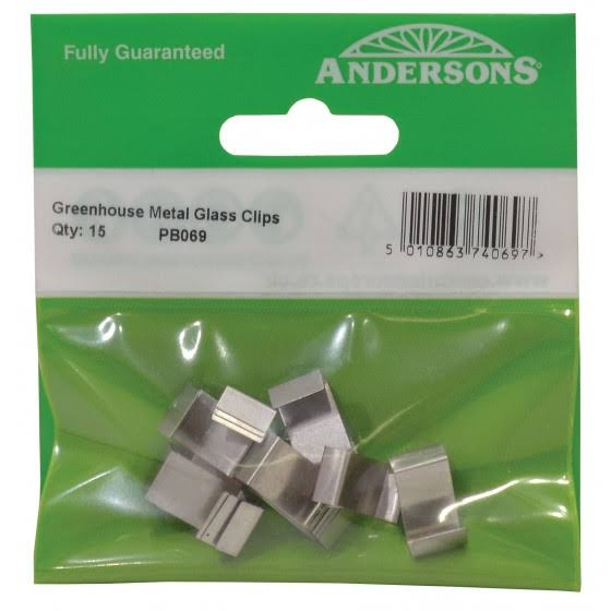 Greenhouse Metal Glass Clips