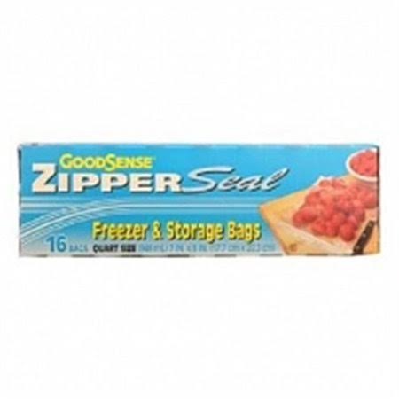 Good Sense Zipper Seal Freezer & Storage Bags