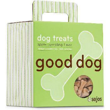 Sojos Good Dog Treats - Apple Dumpling, 8oz