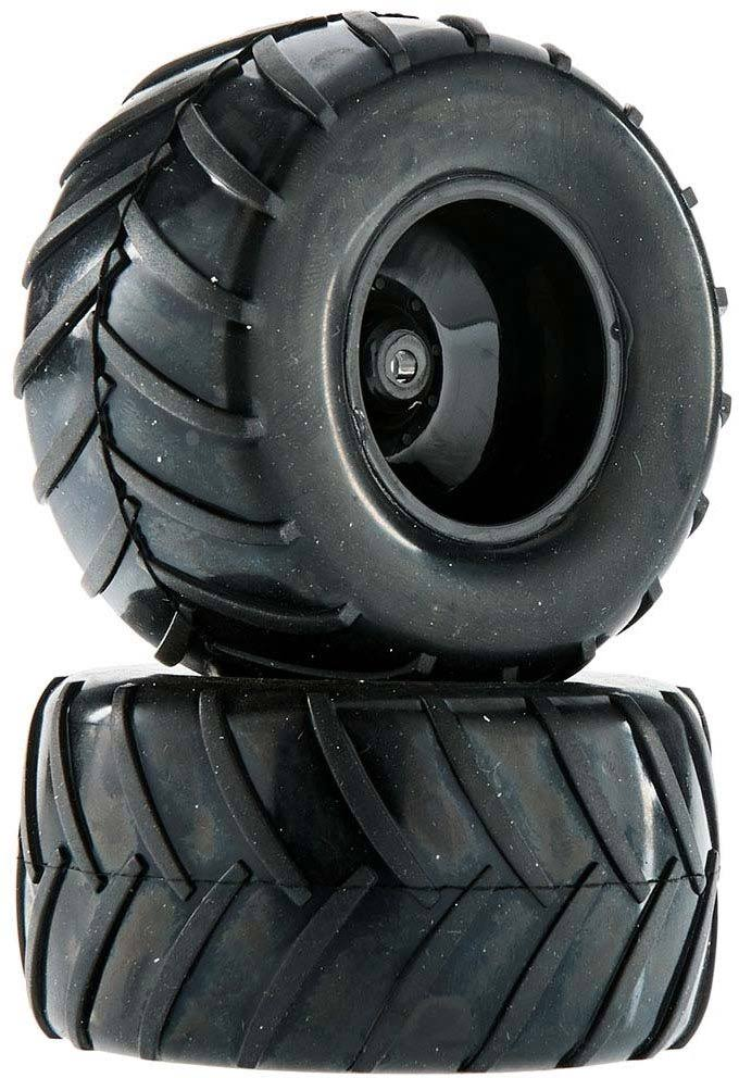 Dromida C1207 Wheel/Tire Assembled Black Monster Truck FPV