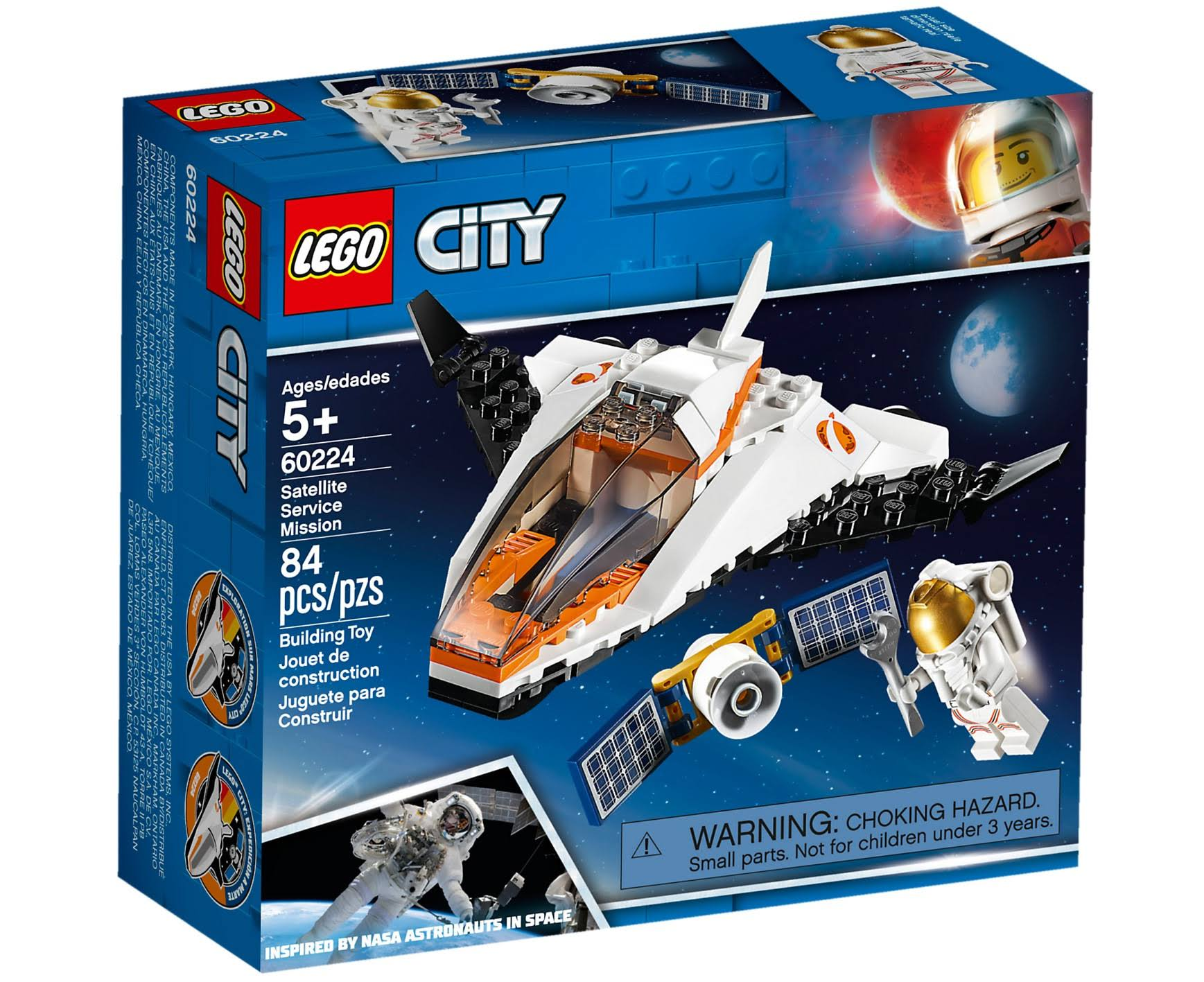 Lego City Building Toy, Satellite Service Mission