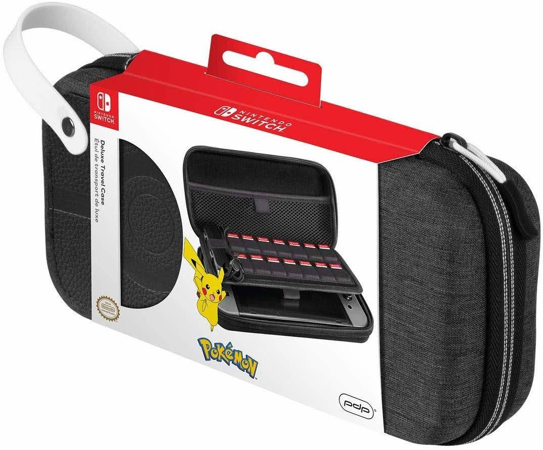 Pdp, Deluxe Travel Case, Nintendo Switch, Pokeball, 500-173