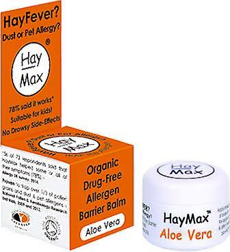 Haymax Organic Drug Free Allergen Barrier Balm - Aloe Vera, 5ml