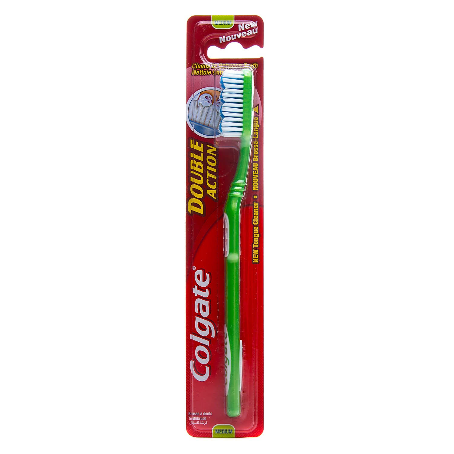 Colgate Double Action Adult Toothbrush