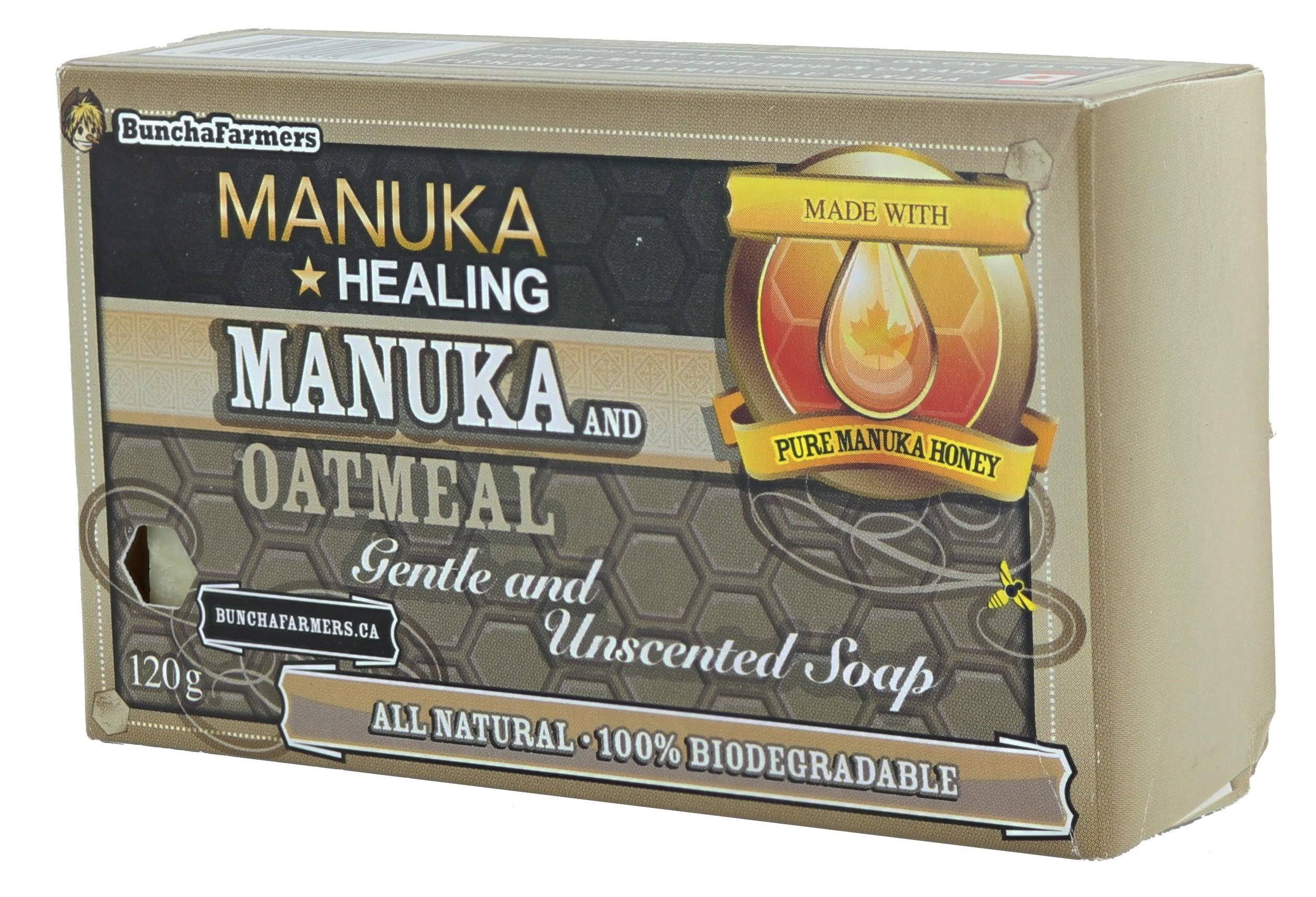 All Natural Oatmeal & Manuka Honey Soap 4oz