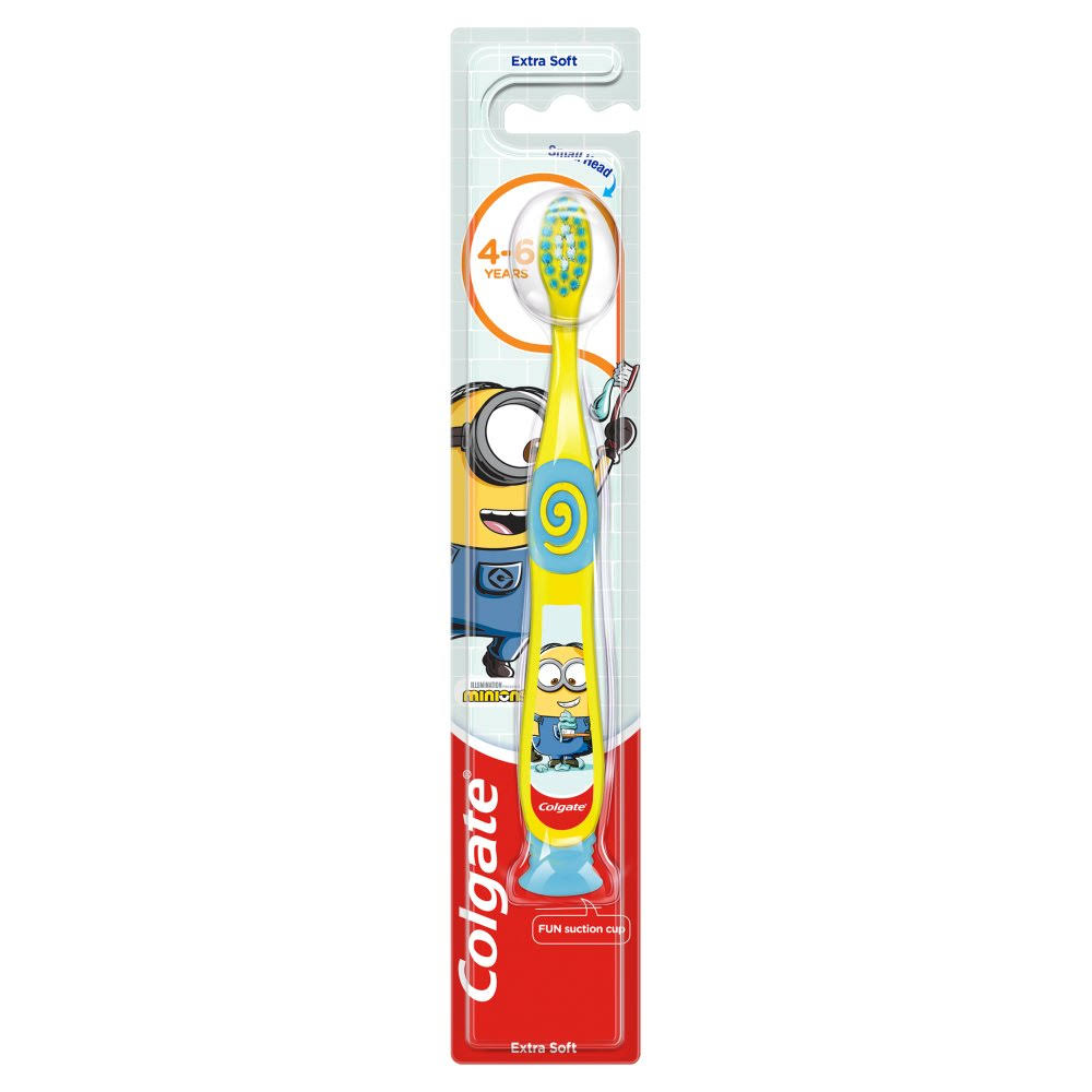 Colgate Kids Minions Extra Soft Toothbrush - 4 to 6 Years