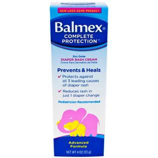 Balmex Diaper Rash Cream, 2 oz