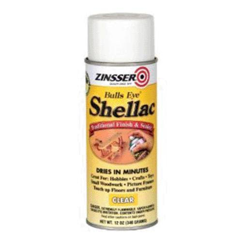 Zinsser Shellac Spray - Clear, 12oz
