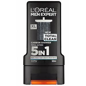 L'Oreal Men Expert Total Clean Shower Gel - 300ml